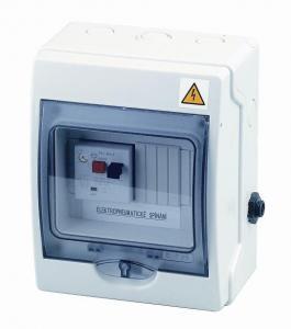 El. ovládání-spínání protiproudu 6-10A,IP65,tlakový spínač;2,5–4,5kW