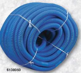 Plovoucí hadice s koncovkou - 51m / sada, prům. 38mm,modrá barva