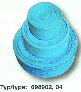 Hadice pro vypouštění, délka 15 m, modrá barva