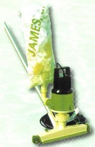 JAMES – podvodní vysavač, 8 m3/h, 0,35 kW, 230 V