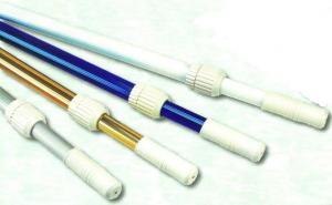 Teleskopická tyč 1,8–3,6 m, zlatá, dvou-dílná (průměr 28/32 mm)