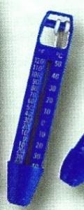 Teploměr modrý 25 cm – neplovoucí