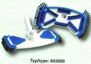 Vysavač DE LUX 280 mm, s bočními kartáčky, připojení 32/38 mm