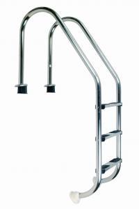 Žebřík nerez Standard s pouzdrem 5 stupňový, AISI 316