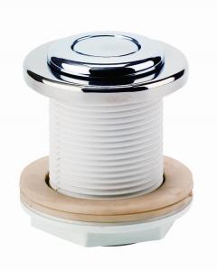 Pneumatické tlačítko nerez v průchodu stěnou ABS