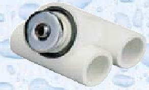 Hydromasážní tryska - Mikrotryska ABS (chrom), d= otvoru 12 mm