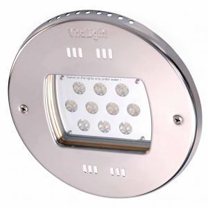 Silné LED světlo, 30 LED -- 13 900 lm, 24 V, bílé