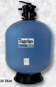 Filtrační nádoba TAGELUS II TA 40 -- 6-ti cest. top-ventil, d= 480 mm