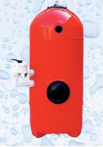 Filtrační nádoba San Sebastian s filtračním křížem - Ø 900mm; hl. lože 1,2m; bez 6ti cestného ventilu