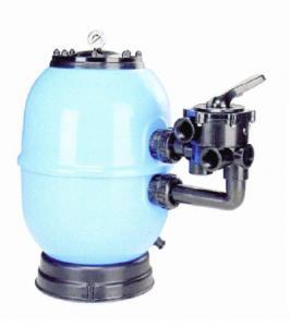 Filtrační nádoba Lisboa 700 mm, průtok 21 m3/h, boční ventil