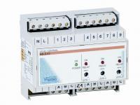 El. hlídání hladiny v akumulační jímce + 7x sonda (na DIN lištu) El. hlídání hladiny v akumulační jímce + 7x sonda (na DIN lištu)