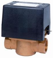 """Elektrický dvoucestný ventil. Připojení 1"""" in 230 V Elektrický dvoucestný ventil. Připojení 1"""" in 230 V"""