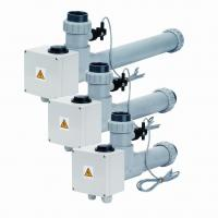Topení EOVTi-6,  6 kW,  3 x 230 V,  Titan s el. průtokovou klapkou Topení EOVTi-6,  6 kW,  3 x 230 V,  Titan s el. průtokovou klapkou