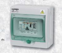 Automatické ovládání pro filtraci - F1 Automatické ovládání pro filtraci - F1