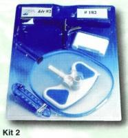 Bazénový vysavač -sada čistícího příslušenství pro bazén Kit 2 Bazénový vysavač -sada čistícího příslušenství pro bazén Kit 2