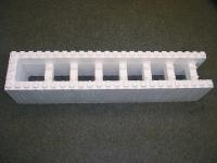 Polystyrenová tvárnice 1200x250x250mm - koncová Polystyrenová tvárnice 1200x250x250mm - koncová