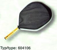 Síťka hladinová s ALU rámem – černá Síťka hladinová s ALU rámem – černá