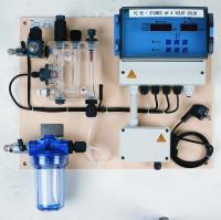 Bazénová měřící stanice pH/Cl – PC95 – i pro slanou a mořskou vodu – 2x čerpadlo Bazénová měřící stanice pH/Cl – PC95 – i pro slanou a mořskou vodu – 2x čerpadlo