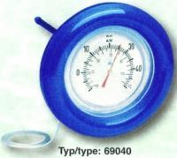 Teploměr plovoucí kruhový – průměr 185 mm s gumovou obručí Teploměr plovoucí kruhový – průměr 185 mm s gumovou obručí