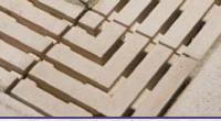 Dekorace - roh mřížky roštu 250 x 250 x tl. 40 mm – Hladký povrch Dekorace - roh mřížky roštu 250 x 250 x tl. 40 mm – Hladký povrch