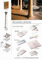 Dekorace - stříška zdi 275 x 500 mm Dekorace - stříška zdi 275 x 500 mm