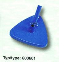 Vysavač trojúhelníkový, připojení 32 / 38 mm Vysavač trojúhelníkový, připojení 32 / 38 mm