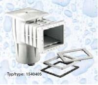 Skimmer Kripsol sání 200 mm x 180 mm, pro fólie, s vak. kotoučem Skimmer Kripsol sání 200 mm x 180 mm, pro fólie, s vak. kotoučem