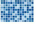 Fólie pro vyvařování bazénů - DLW NGD - mozaika aqua,  2m šíře,  1, 5 mm,  metráž Fólie pro vyvařování bazénů - DLW NGD - mozaika aqua,  2m šíře,  1, 5 mm,  metráž