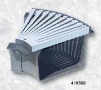 Přelivový žlábek - Roh s roštem 45° PVC Přelivový žlábek - Roh s roštem 45° PVC