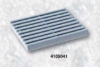 Přelivový žlábek - Rošt PVC Přelivový žlábek - Rošt PVC