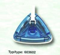 Vysavač trojúhelníkový průhledný, připojení 32/38 mm Vysavač trojúhelníkový průhledný, připojení 32/38 mm
