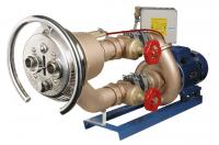 Domontážní sestava - Taifun Duo 63m3 / h kulatý,  bronz. čerp. 2, 6 kW Domontážní sestava - Taifun Duo 63m3 / h kulatý,  bronz. čerp. 2, 6 kW