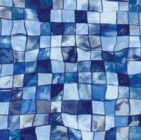 AVfol Decor - Mozaika Aqua Disco; 1, 65m šíře,  1, 5mm,  25m role AVfol Decor - Mozaika Aqua Disco; 1, 65m šíře,  1, 5mm,  25m role