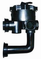 DE křemelinový filtr - Boční 6-ti cestný ventil pro filtr QUAD DE křemelinový filtr - Boční 6-ti cestný ventil pro filtr QUAD