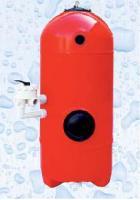 Filtrační nádoba San Sebastians s tryskovým dnem - Ø 640mm; hl. lože 1,2m; bez 6ti cestného ventilu   Filtrační nádoba San Sebastians s tryskovým dnem - Ø 640mm; hl. lože 1,2m; bez 6ti cestného ventilu
