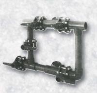 5-ti ventilová baterie pro 1 filtr – model BS -  o 125 mm 5-ti ventilová baterie pro 1 filtr – model BS -  o 125 mm