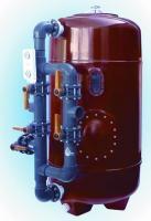 Bazénová filtrace KOK,  640 mm,  9 m3 / h,  filtr. kříž Bazénová filtrace KOK,  640 mm,  9 m3 / h,  filtr. kříž