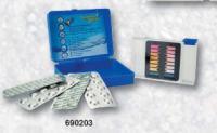 """Tester DPD """"D"""" – Oxy / pH – metoda pomocí tablet, lovibond, barva: modrá Tester DPD """"D"""" – Oxy / pH – metoda pomocí tablet, lovibond, barva: modrá"""