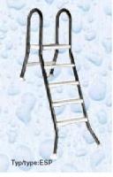 Žebřík ESP pro nezapuštěné bazény, 4+1 stupeň, pro bazény 1,2 m výšky, AISI 304 Žebřík ESP pro nezapuštěné bazény, 4+1 stupeň, pro bazény 1,2 m výšky, AISI 304